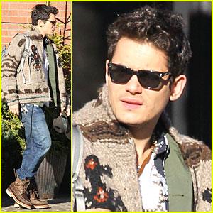 John Mayer: Tribeca Grand Hotel Exit!