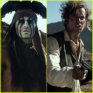 Johnny Depp & Armie Hammer: 'Lone Ranger' Official Trailer!