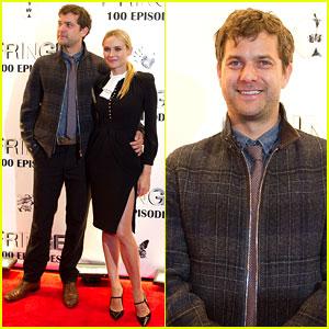 Joshua Jackson & Diane Kruger: 'Fringe' 100 Episodes Party!