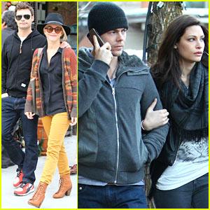Julianne Hough & Ryan Seacrest: Sunny Saturday in Beverly Hills