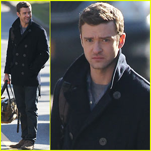 Justin Timberlake: 'Runner, Runner' in New Jersey!