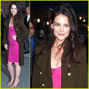 Katie Holmes: 'David Letterman' Appearance Tonight!