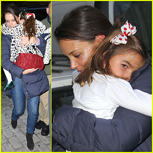Katie Holmes: Kids Game with Suri!