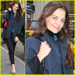 Katie Holmes: Morning Radio, Afternoon Performance!