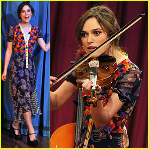 Keira Knightley: Musical Instrument Game with Jimmy Fallon!