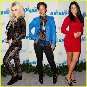 Ke$ha & Alicia Keys: KIIS FM's Jingle Ball 2012!