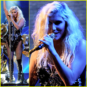 Ke$ha Performs 'C'Mon' on 'The X Factor' - Watch Now!