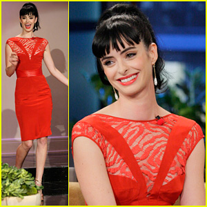 Krysten Ritter: 'Tonight Show with Jay Leno' Appearance!