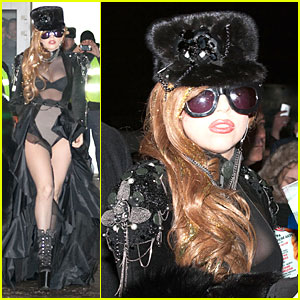 Lady Gaga: Sheer Bra Revealing Beauty!