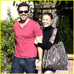 LeAnn Rimes & Eddie Cibrian: Riviera Lunch Date!