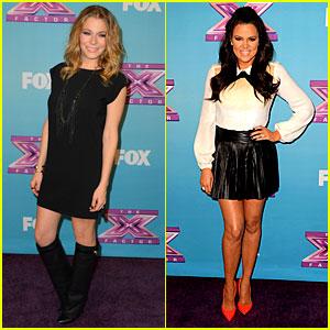 LeAnn Rimes & Khloe Kardashian: 'X Factor' Finale Party!