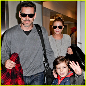 LeAnn Rimes: Post-Holiday Nashville Trip with the Family!