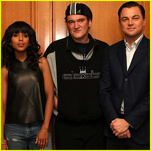 Leonardo DiCaprio & Kerry Washington: 'Django Unchained' Press Conference!