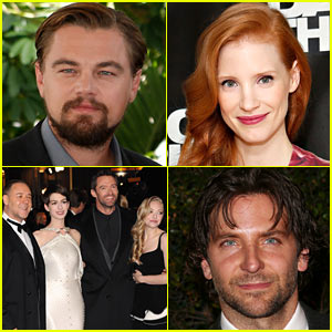 Leonardo DiCaprio & Jessica Chastain: National Board of Review Winners!
