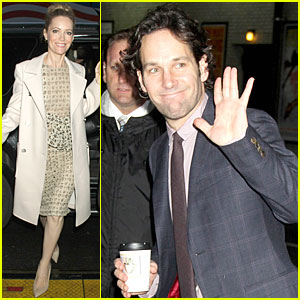 Leslie Mann & Paul Rudd: 'This is 40' Promotion in New York!