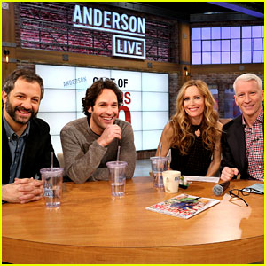 Leslie Mann & Paul Rudd: 'This Is 40' Visits 'Anderson Live'!