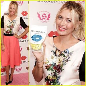 Maria Sharapova: Sugarpova Candy Launch!