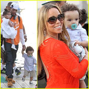 Mariah Carey & Nick Cannon: Australia Sailing with the Twins ...