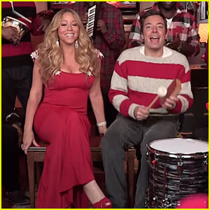 Mariah Carey: 'All I Want For Christmas Is You' on 'Fallon' - Watch Now!