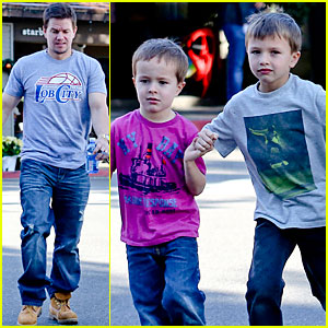 Mark Wahlberg Kids In Transformers