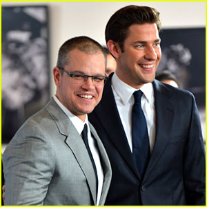 Matt Damon & John Krasinski: 'Promised Land' Premiere!