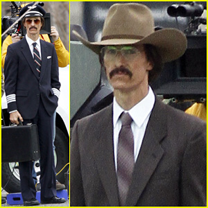 Matthew McConaughey: Costume Day on 'Dallas Buyers' Set!