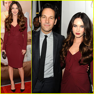 Megan Fox: 'This Is 40' Premiere with Paul Rudd!