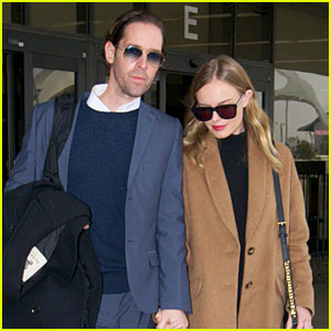 Michael Polish Monitors Topshop Video with Kate Bosworth by His Side!