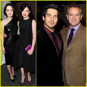 Michelle Dockery & Elizabeth McGovern: 'Downton Abbey' Evening!