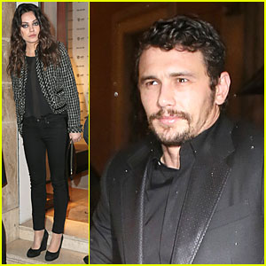Mila Kunis & James Franco: Artists For Peace And Justice Cocktail!