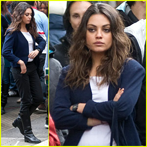 Mila Kunis: 'Third Person' Rome Set Turned Into New York!
