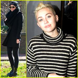 Miley Cyrus: Sigma Sound Studios Visit!