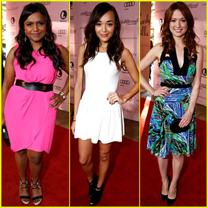 Mindy Kaling & Ashley Madekwe: THR's Power 100 Breakfast!