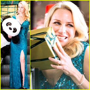 Naomi Watts: Promo Shoot with a Panda Bear!