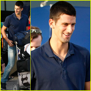 Novak Djokovic: Australian Arrival!