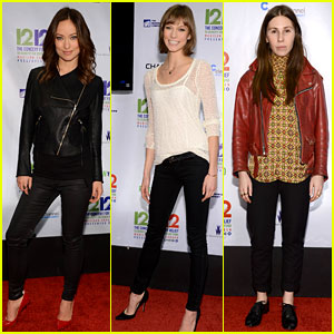 Olivia Wilde & Karlie Kloss: 12-12-12 Concert in New York!