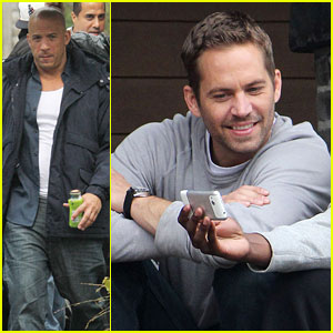 Paul Walker: 'Fast Six' Set with Vin Diesel!