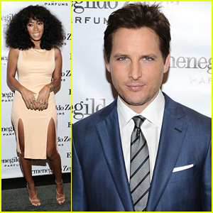 Peter Facinelli: Ermenegildo Zegna's 'Essenze' Launch!