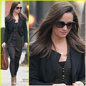 Pippa Middleton Steps Out After Sister Kate's Hospital Release