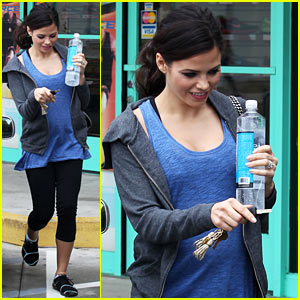 Pregnant Jenna Dewan Brings Her Baby Bump to the Gym!