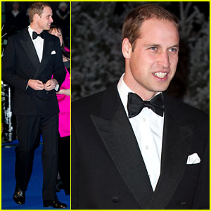 Prince William: Winter Whites Gala Without Pregnant Kate Middleton