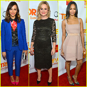 Rashida Jones & Amy Poehler - Trevor Live 2012