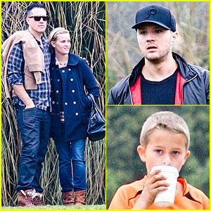 Reese Witherspoon & Jim Toth: Deacon's Soccer Game with Ryan Phillippe!
