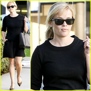 Reese Witherspoon: I'm 'Crawling Back' To My Pre-Baby Weight