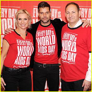 Ricky Martin: World AIDS Day Event!