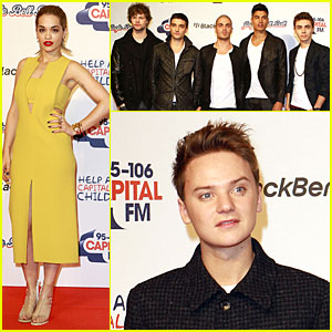Rita Ora & The Wanted: Jingle Bell Ball!
