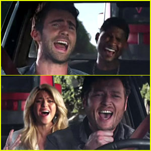 Shakira & Usher: 'The Voice' Season 4 Promo - Watch Now!