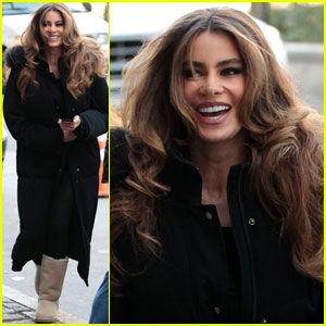 Sofia Vergara Bundles Up in the Big Apple!