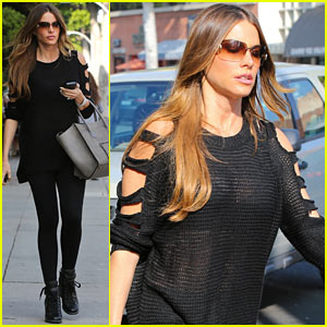 Sofia Vergara is Cut Out in Beverly Hills