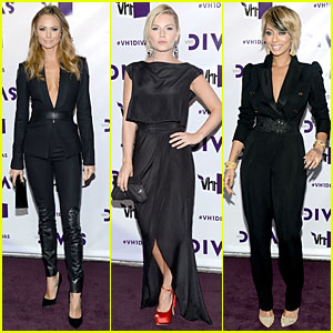 Elisha Cuthbert Wedding.Stacy Keibler Elisha Cuthbert Vh1 Divas 2012 Red Carpet Dion